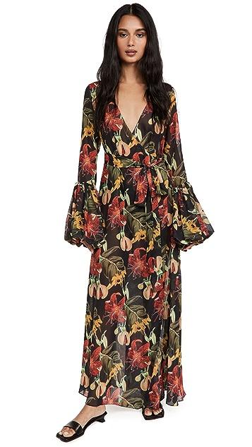 Fe Noel Isle of Spice Wrap Dress