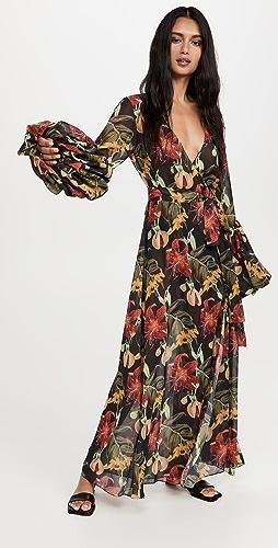 Fe Noel - Isle of Spice Wrap Dress
