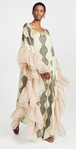 Fe Noel - Gatsby Palm Print Caftan