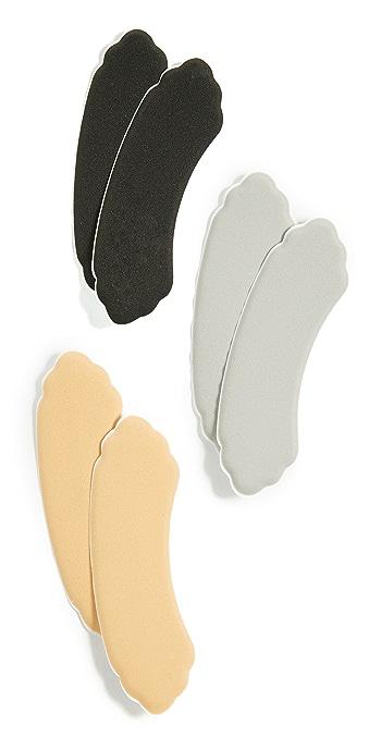 Foot Petals Heavenly Heelz Combo Pack - Multi