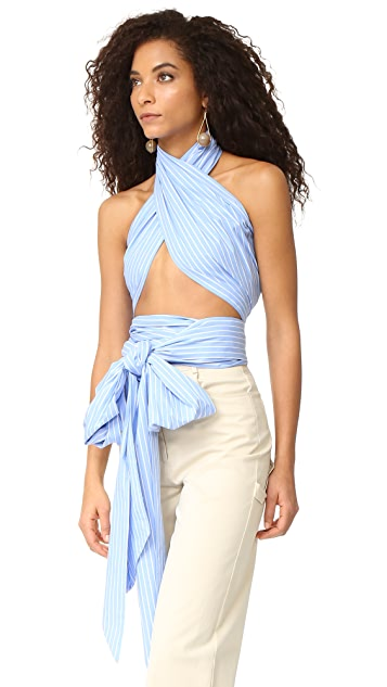 Fame and Partners Wren Multi Way Scarf Top