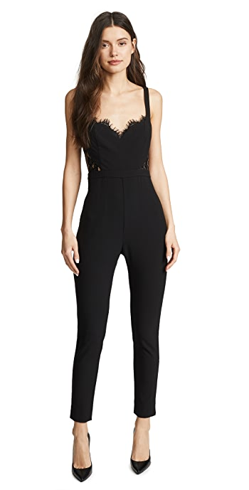 Fame and Partners The Millie Jumpsuit - Black