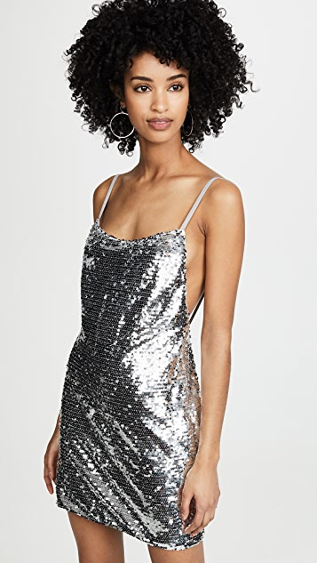 Fame and Partners Sequined Mini Dress