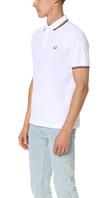 Fred Perry Slim Fit Twin Tipped Fred Perry Shirt