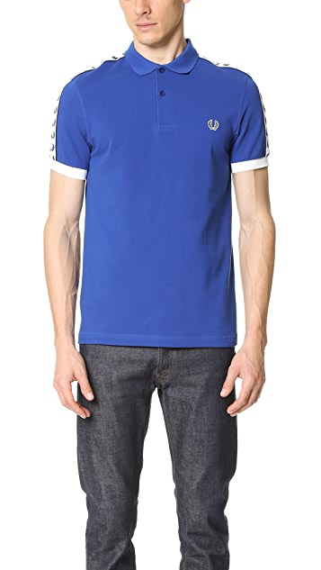 Fred Perry Taped Pique Shirt
