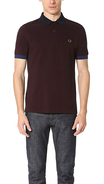Fred Perry Colorblock Pique Shirt