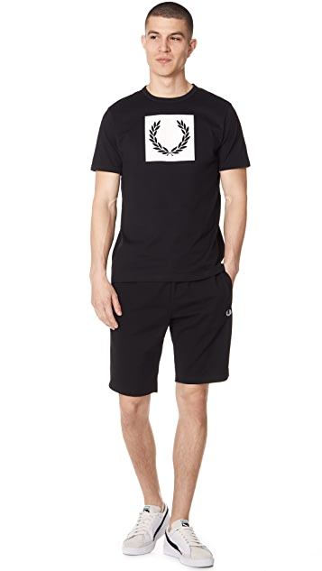 Fred Perry Printed Laurel Wreath Tee