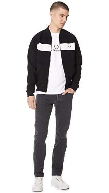 Fred Perry Reverse Tricot Track Jacket