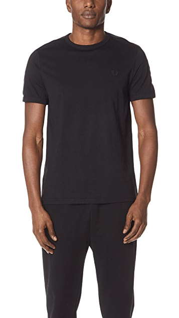 Fred Perry Tonal Taped Ringer Tee