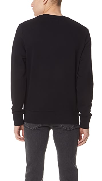 Fred Perry Tonal Embroidered Sweatshirt