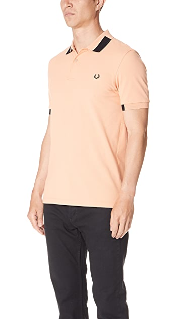 Fred Perry Block Tipped Pique Shirt