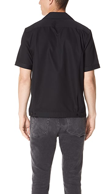 Fred Perry Miles Kane Bowling Shirt