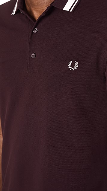 Fred Perry Contrast Tipped Polo Shirt