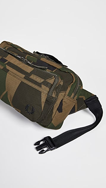Fred Perry Printed Crossbody Bag