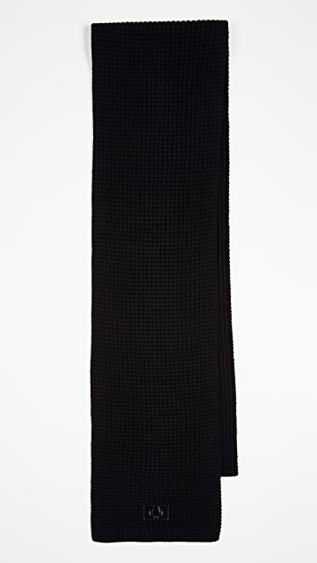 Fred Perry Wafflie Knit Scarf