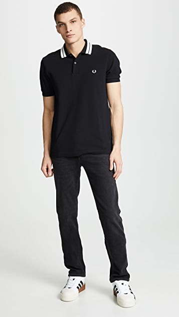 Fred Perry Bold Tipped Pique Shirt