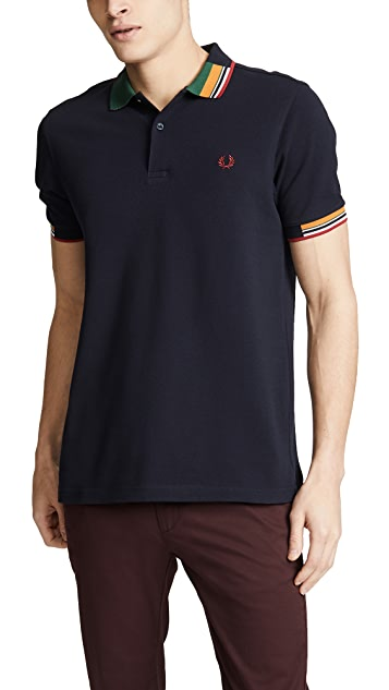 Fred Perry Abstract Collar Shirt