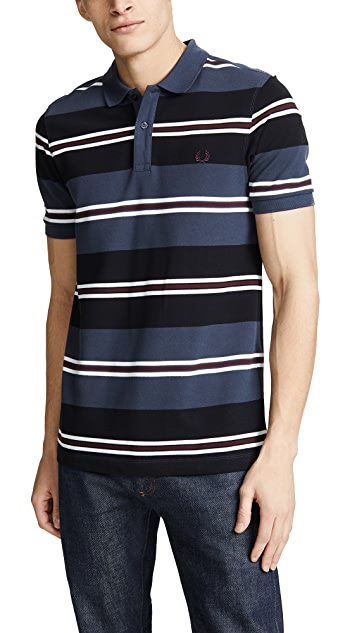 Fred Perry Contrast Stripe Pique Shirt
