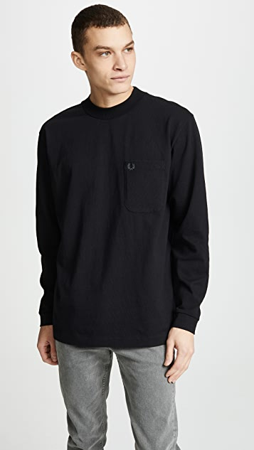 Fred Perry High Neck T-Shirt