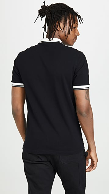 Fred Perry Contrast Rib Polo Shirt