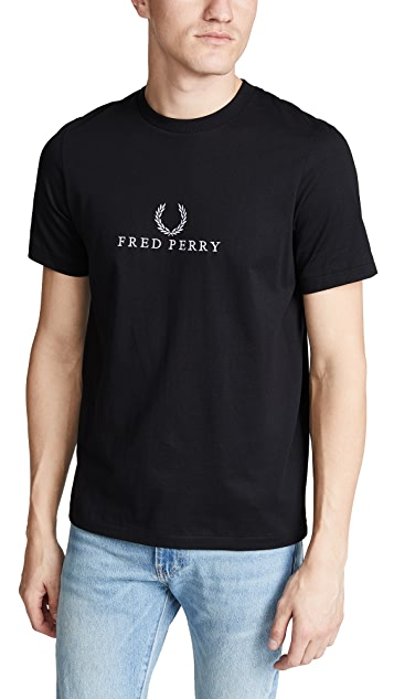 Fred Perry Embroidered T-shirt