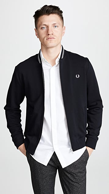 Fred Perry Bomber Neck Sweatshirt