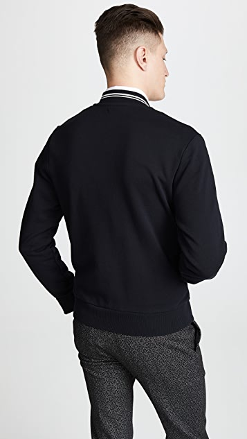 Fred Perry Bomber Neck Sweatshirt
