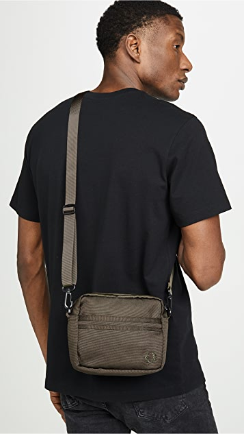 Fred Perry Tonal Tipped Small Side Bag