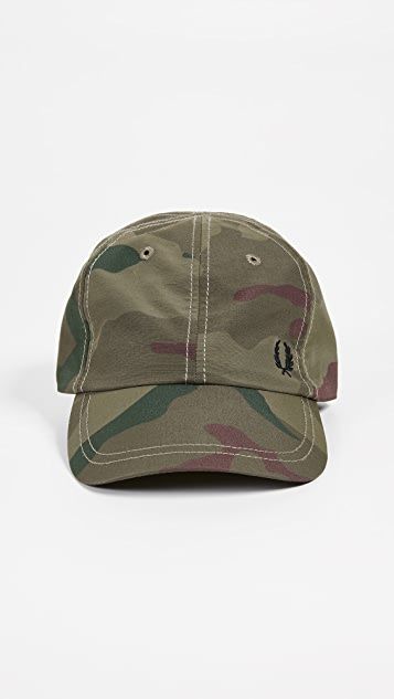 154d66f05 Fred Perry Camouflage Cap   EAST DANE