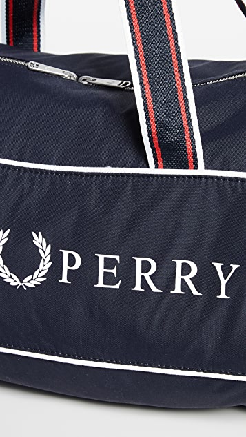 Fred Perry Retro Branded Barrel Bag