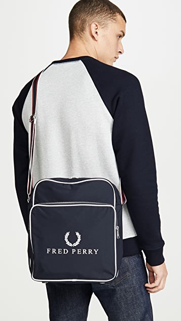 Fred Perry Retro Branded Flight Bag