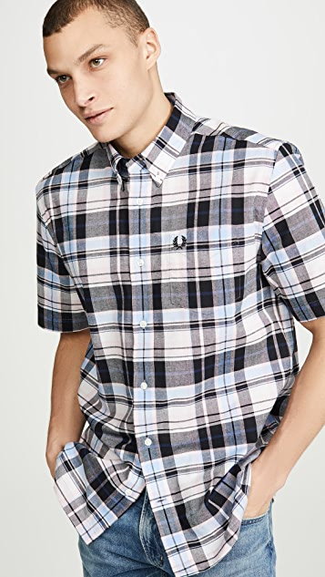 Fred Perry Short Sleeve Madras Shirt