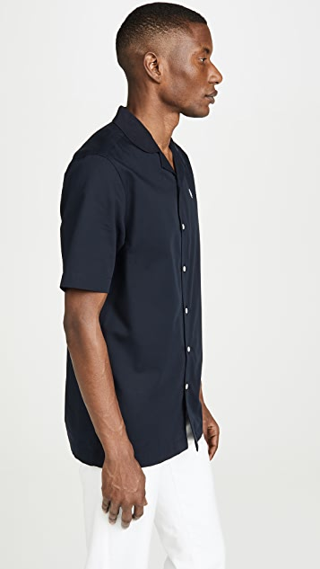 Fred Perry Short Sleeve Camp Collar Shirt