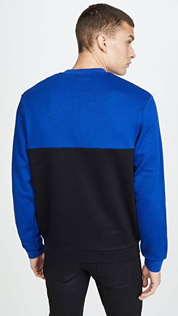 Fred Perry Block Graphic Sweatshirt