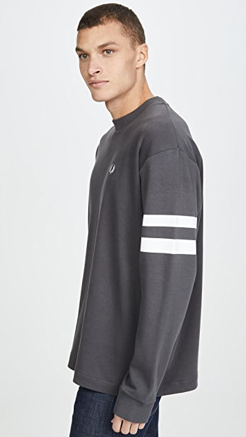 Fred Perry Tipped Sleeve T-Shirt
