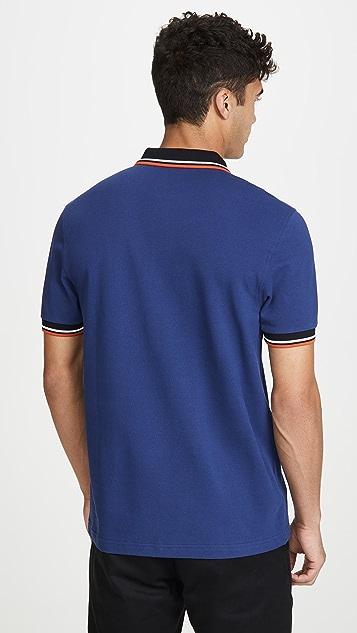 Fred Perry Contrast Rib Polo Shirt