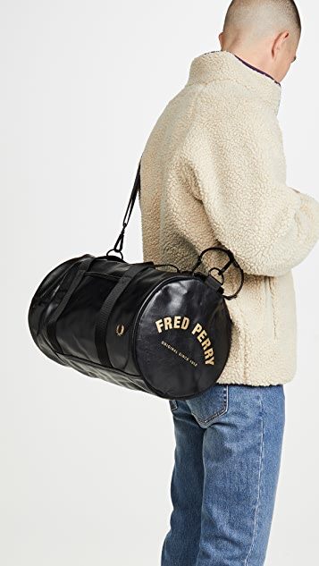 Fred Perry Tonal Pu Barrel Bag