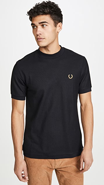 Fred Perry Miles Kane Mock Neck T-Shirt