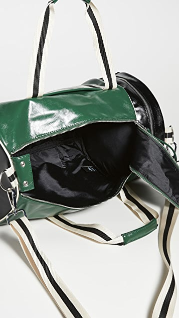 Fred Perry Colorblock Classic Barrel Bag