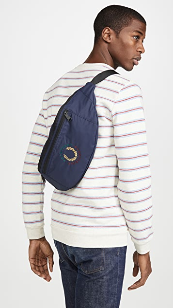 Fred Perry Branded Ripstop Crossbody Bag