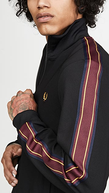 Fred Perry Taped Sleeve Track Jacket