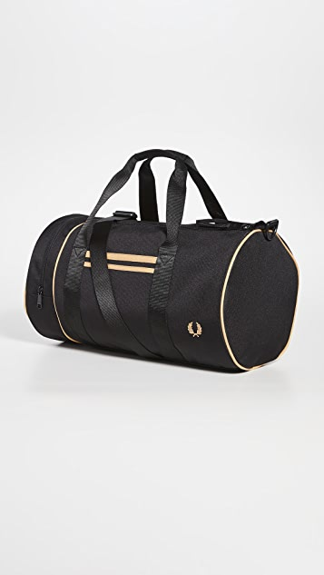 Fred Perry Twin Tipped Barrel Bag