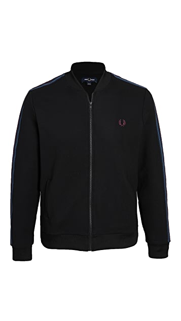 Fred Perry Taped Bomber Neck Track Jacket