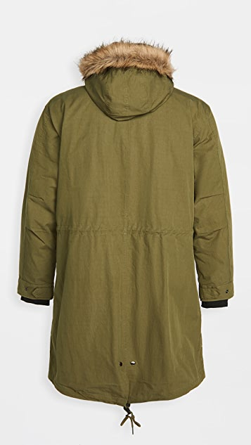Fred Perry Zip In Liner Parka