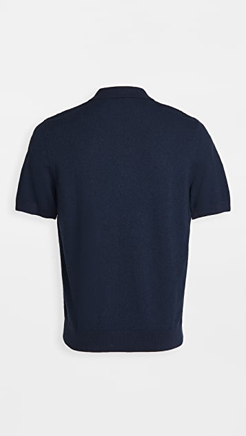 Fred Perry Striped Knitted Shirt