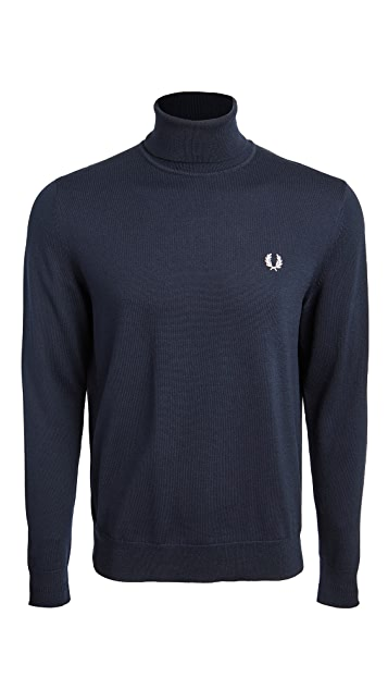 Fred Perry Roll Neck Sweater