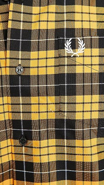 Fred Perry Tartan Oxford Shirt