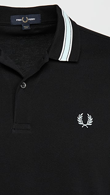 Fred Perry Tramline Tipped Polo Shirt