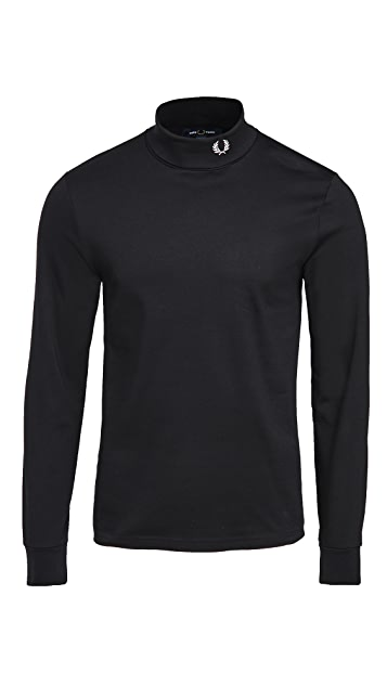 Fred Perry Roll Neck Top