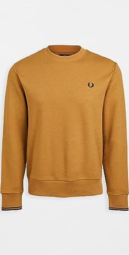 Fred Perry - Crew Neck Sweatshirt